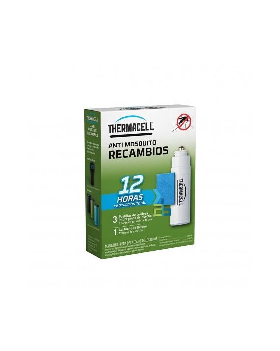 THERMACELL RECAMBIO 12 H  1CARTUCHO+3...