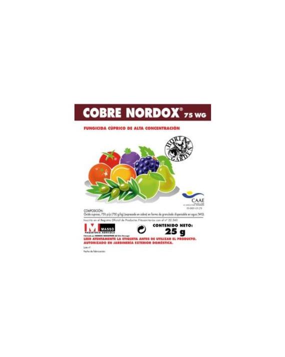 COBRE NORDOX 75 WG 25 GR.